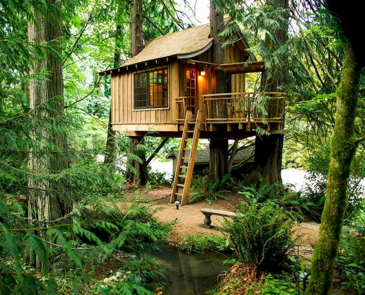 DIY Treehouse For 2018 Summer Times - Elonahome.com
