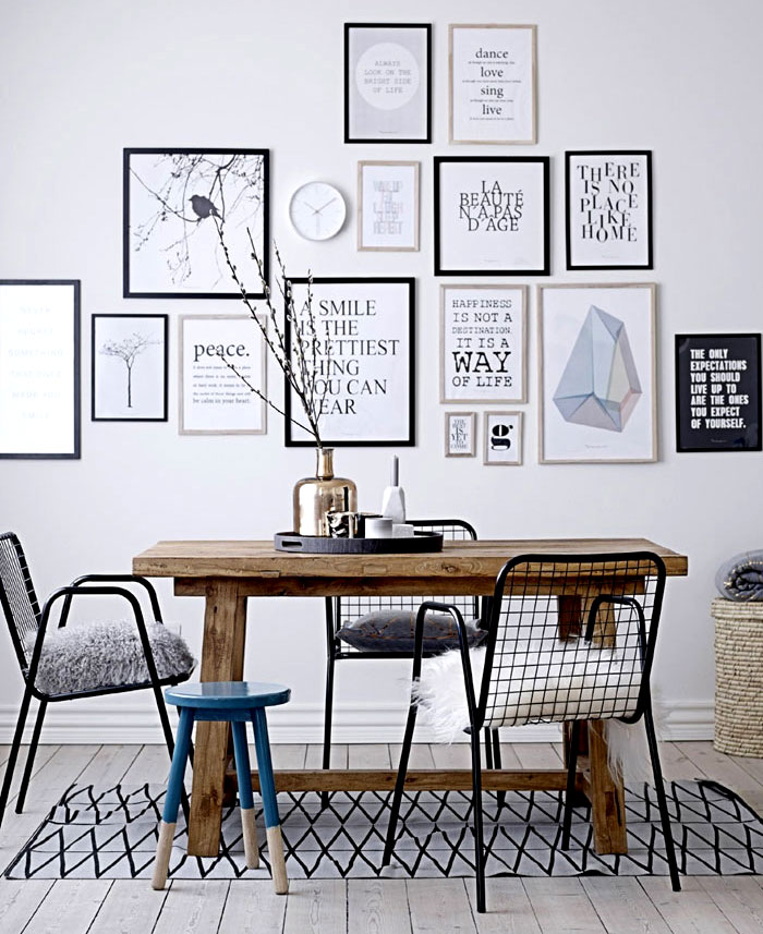 Wall Art For Dining Room: 50+ Wall Décor Ideas For 2018 Dining Room Trend