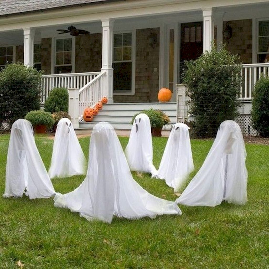 Halloween Yard.70 Halloween Outdoor Decorations With Scary Spell Elonahome Com