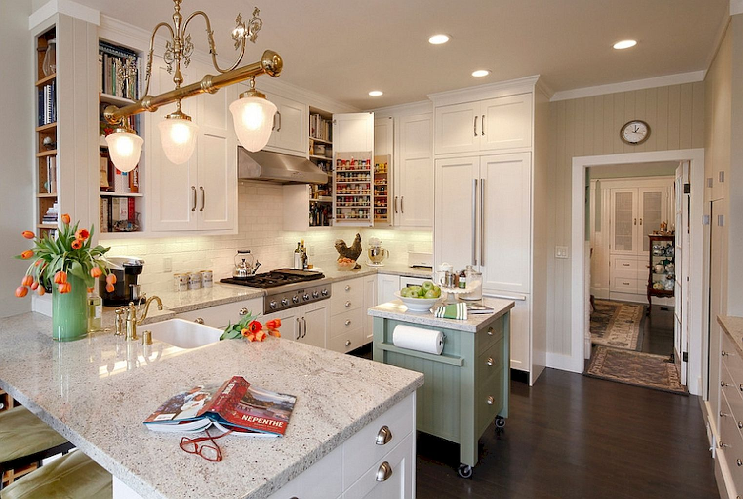 50 Small Kitchen Islands With Maximum Functions And Utility