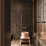Easy Bathroom Makeover Inspirations with Cheap Decoration and Accessories Part 47