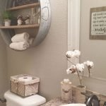 Easy Bathroom Makeover Inspirations with Cheap Decoration and Accessories Part 49