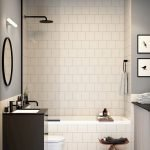 Easy Bathroom Makeover Inspirations with Cheap Decoration and Accessories Part 63