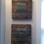 Easy Bathroom Makeover Inspirations with Cheap Decoration and Accessories Part 65