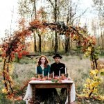 Fall wedding decoration idea with inspiring autumn decoration and fall flowers design Part 18
