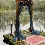 Fall wedding decoration idea with inspiring autumn decoration and fall flowers design Part 19
