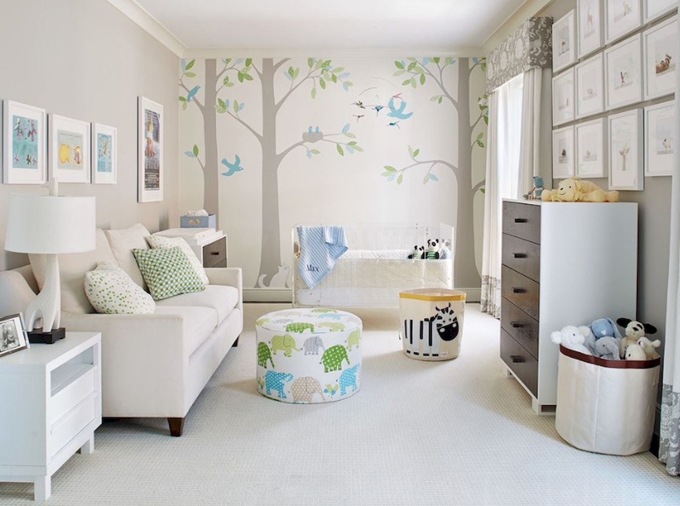 Most Popular Decorating Ideas For Baby Nursery Rooms