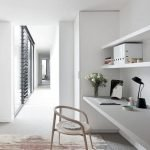 Home Office Designs with White Desk Concept Part 16