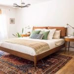 Artistic Bedroom Rug Patterns with Rich Tribal Ornament Part 10