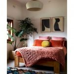 Artistic Bedroom Rug Patterns with Rich Tribal Ornament Part 5