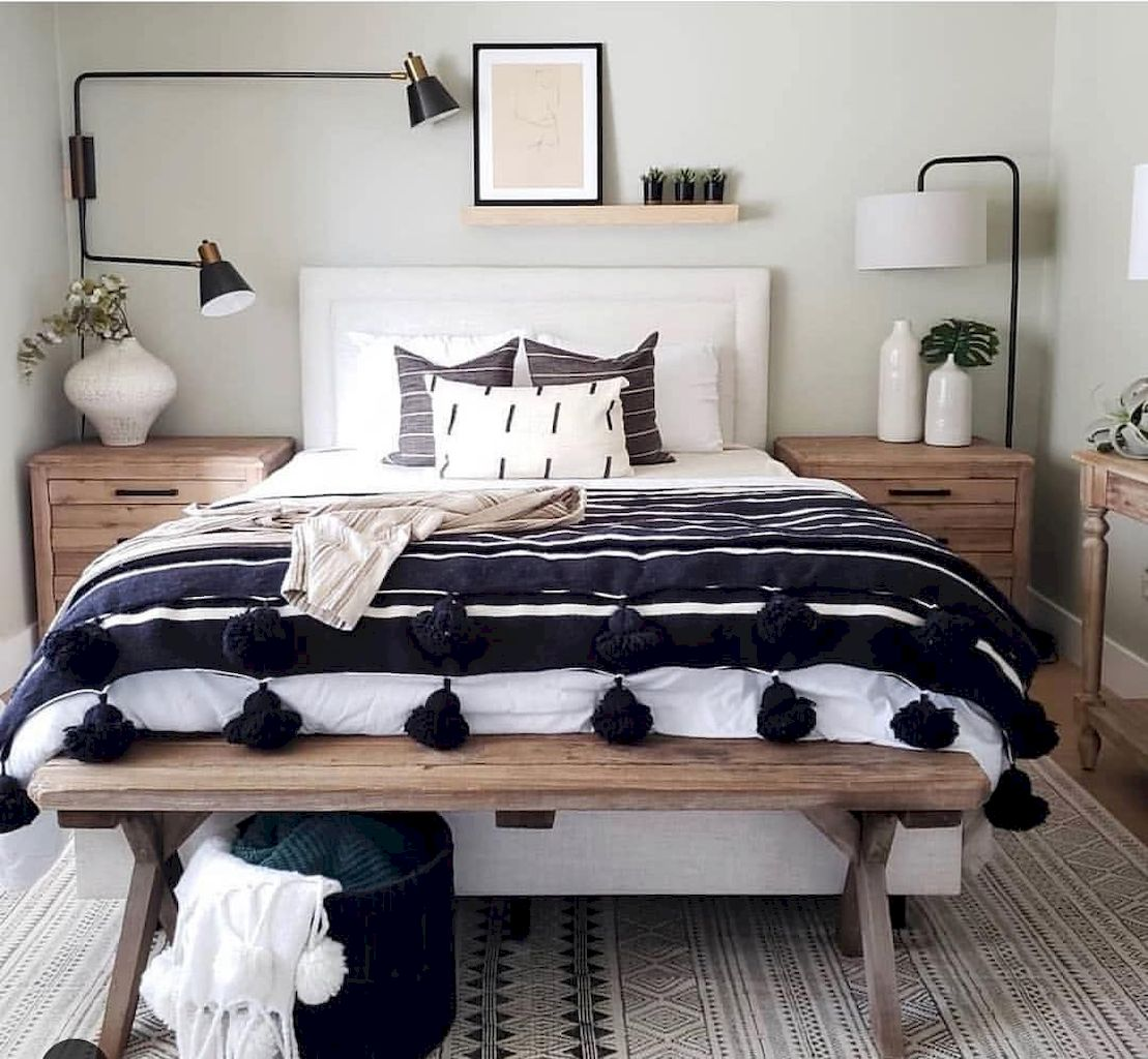 Beautiful Bed Sheet Designs With Tribal Pattern Liven Up Bedroom Looks Part 21