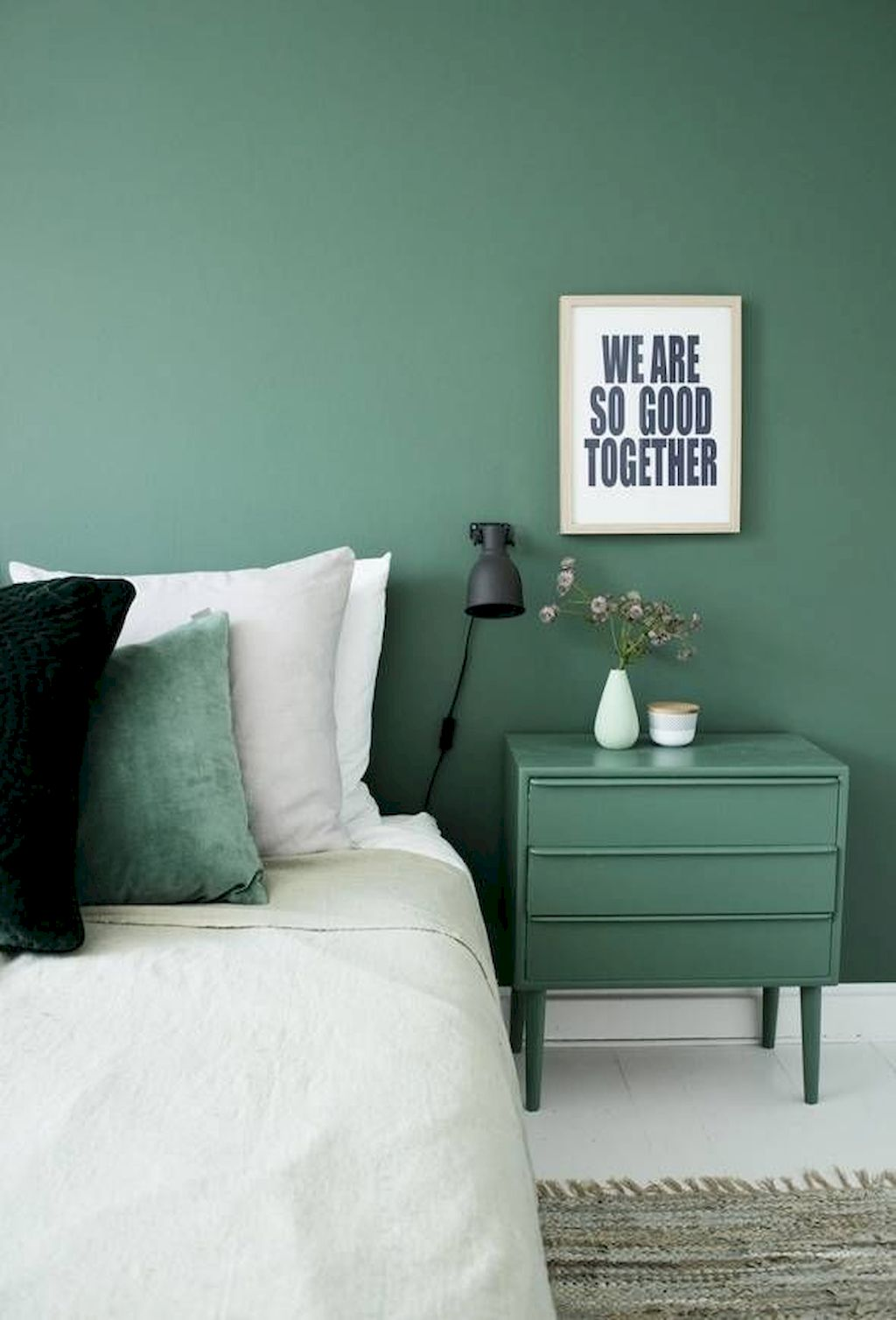 Beautiful Bedroom Designs in Brave Color Mix - Elonahome.com
