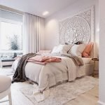 Inviting Bedroom Concept with Warm Beautiful Rug Decor Part 15