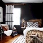 Inviting Bedroom Concept with Warm Beautiful Rug Decor Part 24