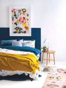 Modern Bedroom Concept With Strong Color Accents Part 39