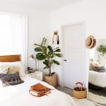 Relaxing Bedroom Feel with Natural Touch of Greenery Decorations Part 29