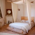 Warm Cozy Bedroom with Beautiful Rug Decoration Part 29