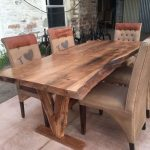 Amazing ideas of liveedge dining tables with more inspiration to liven up the dining rooms friendly and refreshing vibes Part 10