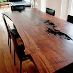 Amazing ideas of liveedge dining tables with more inspiration to liven up the dining rooms friendly and refreshing vibes Part 16
