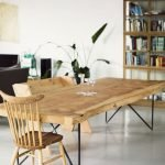 Amazing ideas of liveedge dining tables with more inspiration to liven up the dining rooms friendly and refreshing vibes Part 19
