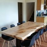 Amazing ideas of liveedge dining tables with more inspiration to liven up the dining rooms friendly and refreshing vibes Part 23