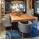 Amazing ideas of liveedge dining tables with more inspiration to liven up the dining rooms friendly and refreshing vibes Part 5