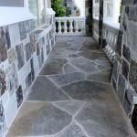 Amazing outdoor and garden paving ideas using flagstones Part 17
