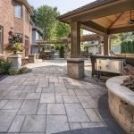 Amazing outdoor and garden paving ideas using flagstones Part 20