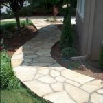 Amazing outdoor and garden paving ideas using flagstones Part 26