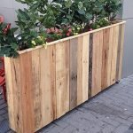 DIY planter boxes made from reclaimed woods and pallets excellent for outdoor and indoor decoration Part 13