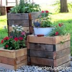 DIY planter boxes made from reclaimed woods and pallets excellent for outdoor and indoor decoration Part 14