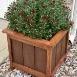 DIY planter boxes made from reclaimed woods and pallets excellent for outdoor and indoor decoration Part 24
