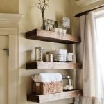 Effective bathroom organization with easy open shelving ideas Part 3