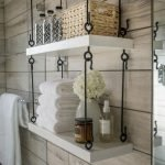 Effective bathroom organization with easy open shelving ideas Part 4