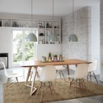 Exotic Wooden Table Designs for Modern Traditional Dining Room Part 8