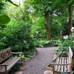 Exotic traditional style of graveled garden walkways that add more natural vibes in your garden designs Part 26