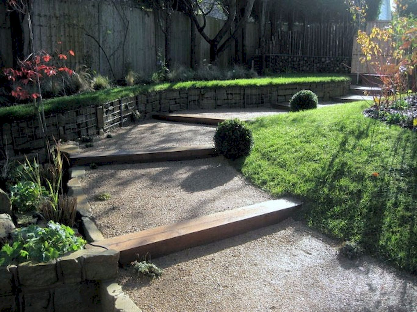 Gravel Walkway Ideas From Earthy Gardens Style Elonahome Com