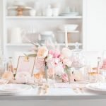 Lovely Table Decoration for Valentine Wedding Theme Part 11