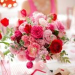 Lovely Table Decoration for Valentine Wedding Theme Part 19