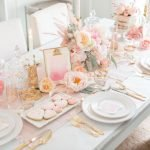 Lovely Table Decoration for Valentine Wedding Theme Part 2