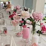 Lovely Table Decoration for Valentine Wedding Theme Part 22