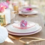 Lovely Table Decoration for Valentine Wedding Theme Part 29
