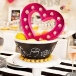 Lovely Table Decoration for Valentine Wedding Theme Part 5