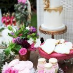 Lovely Table Decoration for Valentine Wedding Theme Part 6
