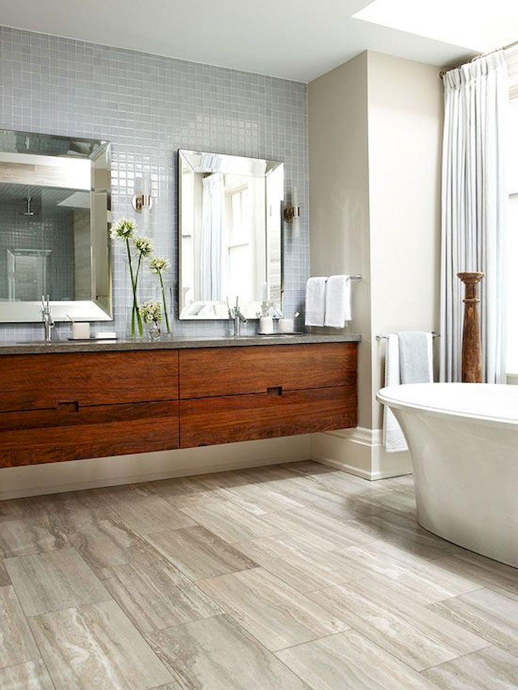 Best Modern Bathroom Ideas Floating Wooden Vanity Elonahome Com