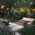 Modern outdoor dining and living area with cozy furniture for perfect gathering spPart 25