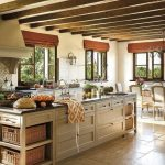 Natural Stone Floor Ideas that Looks Amazing in Traditional and Vintage Kitchen Styles Part 19