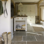Natural Stone Floor Ideas that Looks Amazing in Traditional and Vintage Kitchen Styles Part 2