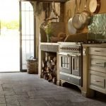Natural Stone Floor Ideas that Looks Amazing in Traditional and Vintage Kitchen Styles Part 3