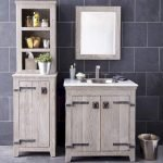 Open shelving and builtin cabinets for lots of extra bathroom storage Part 30